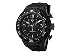 Men's Neptune Chronograph, Black / Grey