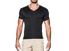 UA Tac HeatGear Compression V-Neck Shirt