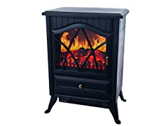 Warm House Retro Electric Fireplace