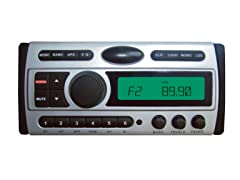 1.5-Din CD/MP3/AM/FM Marine Grade Player