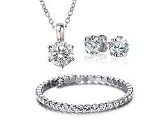 Swarovski Elements Luxurious Crystal Set