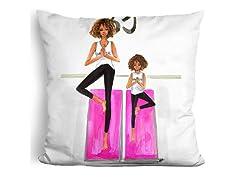 LiLiPi Brand Pillow - Mom Yoga