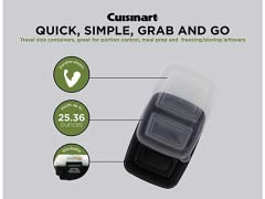 Cuisinart Meal Prep 2 Section Containers