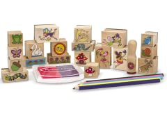 Melissa & Doug Stamp-a-Scene Set