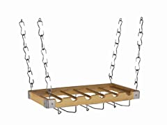 "2-in-1 Wine Rack 12""x23"" - Wood"