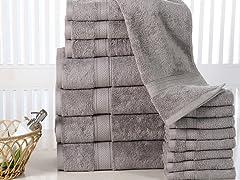 100% Cotton 16-PC Luxury Towel Set