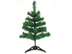 "Christmas Tree Green Pine, 15.7"" with 35 Tips"