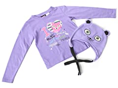 Girls Kitty Hat & Tee
