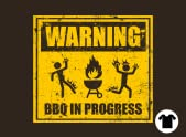 Warning: BBQ in Progress