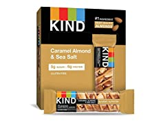 KIND Bars Caramel Almond & Sea Salt 12ct