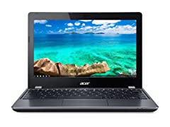 "Acer 11.6"" Intel Dual-Core Chromebook"