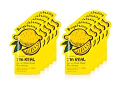 I'm Real Lemon Mask Sheet -  10 Pack