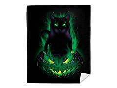 Black Wizard Mink Fleece Blanket