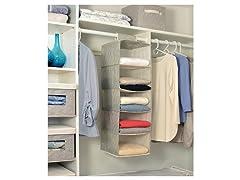 5 Tier Hanging Closet Organizer