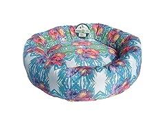 Floral Donut Bed
