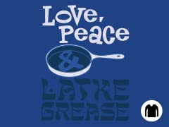 Love, Peace & Latke Grease LS Tee