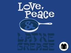 Love, Peace & Latke Grease LS Tee