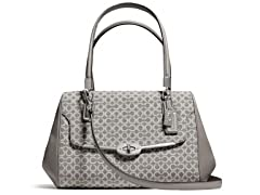 Coach Madison Small Madeline E/W Satchel, Grey