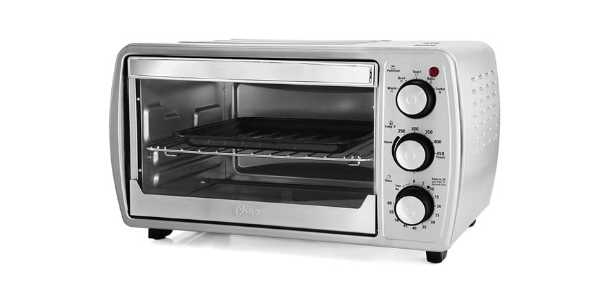 Oster Countertop Convection Oven Tssttvcg02 : Oster 6-Slice Convection Toaster Oven Stainless - Sellout.Woot