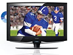 "Coby 32"" 720p LCD HDTV with DVD Player"