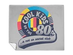 Cool Kids of The 80's Mink Fleece Blanket