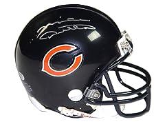 Mike Ditka Signed Bears Logo Mini Helmet