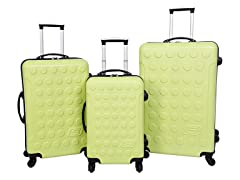 Skechers Cosmos Hardside Luggage Set-Tender Shoots