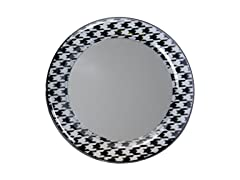 Mirror - Black Houndstooth