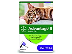 Bayer Advantage II Flea Prevention-Cats