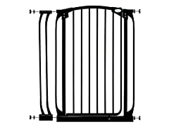 Extra Tall Swing Gate w/ Ext - Black