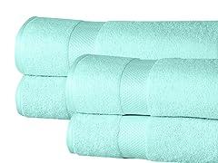 4-Pc Elegance Spa Bath Sheets