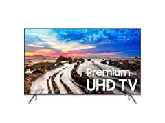 "Samsung 75"" 4K Smart TV with Wi-Fi"