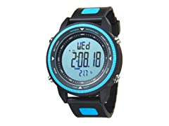 Switchback Digital Watch Black/Blue