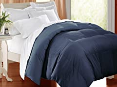 Down Alternative Comforter Navy-3 Sizes