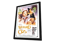 Wizard of Oz Framed Movie Poster