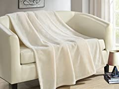 Chic Home Design Dijon Throw Blanket