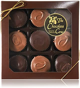 18 Piece The Chocolate Cow Peanut Butter Cups Box