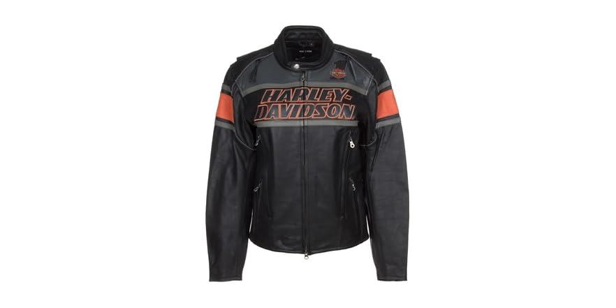Harley Davidson Rumble Leather Jacket