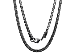 Stainless Steel Black IP Box Chain
