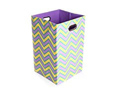 Sweets Canvas Folding Laundry Bin