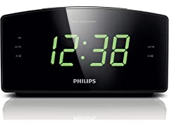 Philips AJ3400 Clock Radio Black