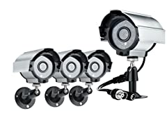 Sony CCD Security Camera Kit - 4 Pack