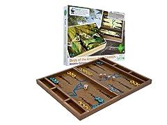 Zoo Birds Wooden Backgammon Set