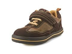 Terran Leather/Suede Shoe - Chocolate
