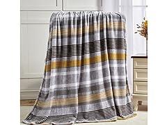 Printed Soft Microplush Throw Blanket