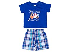 Cutie Pie Baby MVP 2-Pc Short Set