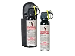 Sabre Red Frontiersman Bear Spray with Holster
