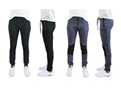 Men's Moisture Wicking Jogger 2-Pack