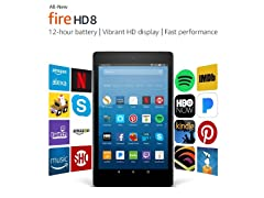 "Amazon Fire HD 8"" (2016) 32GB Tablet"