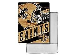 New Orleans Saints Foot Pocket Throw